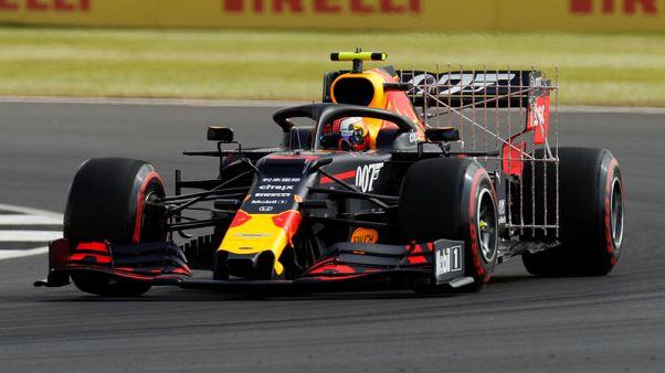 Gasly fastest in first British GP practice