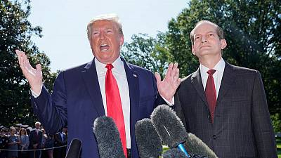 Trump's Labour Secretary Acosta resigns amid Epstein case