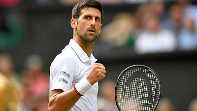 Djokovic holds off spirited Spanish challenge to reach Wimbledon final