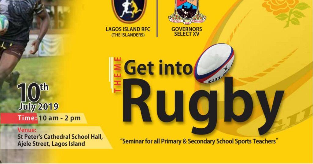 Nigeria: Rugby seminar excites Lagos school Teachers and Pupils - Africanews English