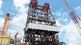 انتاج النفط الأمريكي في خليج المكسيك يهبط 59% بسبب العاصفة باري