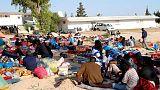 نقل المزيد من المهاجرين إلى مركز احتجاز في ليبيا استهدفته ضربة جوية