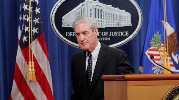 Mueller testimony to U.S. House panels delayed by one week to July 24