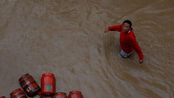 ارتفاع عدد ضحايا الأمطار الموسمية في نيبال إلى 30