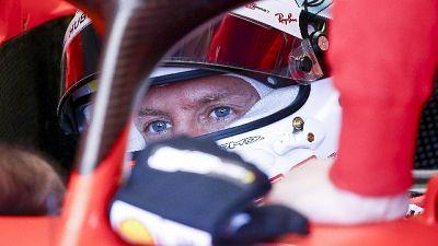 Vettel, mancato un po' ritmo e velocità