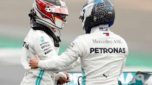 Bottas pips Hamilton to British GP pole
