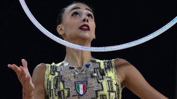 Ritmica,Alessia Russo argento nel nastro