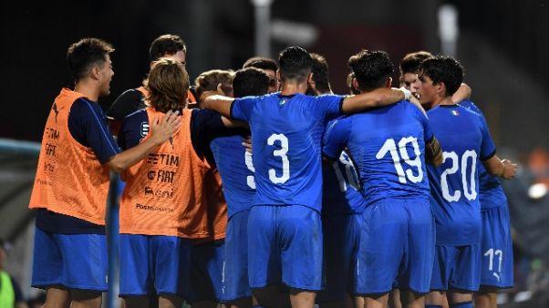 Calcio, Italia medaglia di bronzo