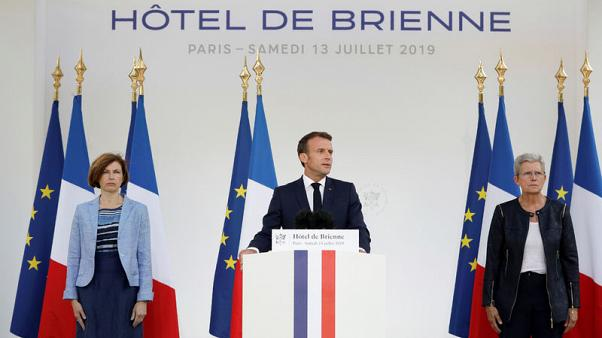 France to create space command within air force - Macron
