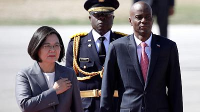 Taiwanese president travels to Haiti to bolster relations in the region