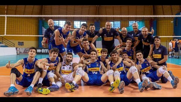 Universiadi, Italvolley vince l'oro