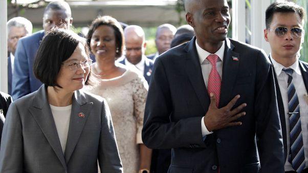 رئيسة تايوان تزور هايتي في بداية جولة بمنطقة الكاريبي