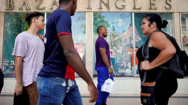 Cuba hopes for slight growth as Trump pummels Caribbean island