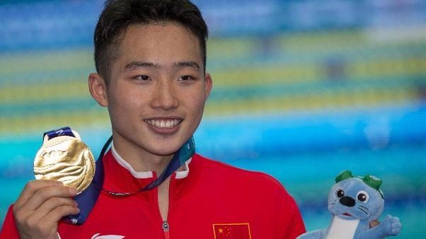 Mondiali tuffi: trampolino 1m, oro Wang