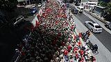 Venezuela: Papa, porre fine a sofferenze