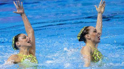 Mondiali sincro, Italia 5/a nel duo tech