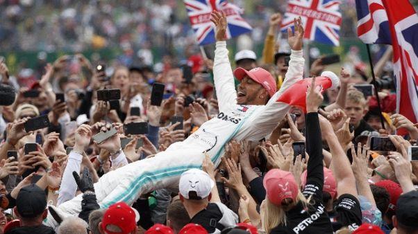 F1: Hamilton, grazie a questo pubblico