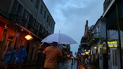 Storm Barry moves inland from New Orleans, leaves rain and flooding in its wake