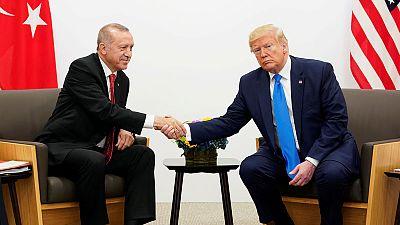 أردوغان: ترامب يملك سلطة الإحجام عن فرض عقوبات على تركيا