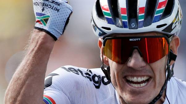More Tour de France joy for Impey with stage win