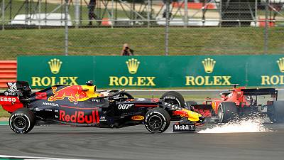 Vettel apologises to Verstappen after collision