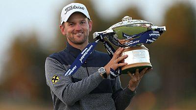 Wiesberger wins Scottish Open in playoff over Hebert