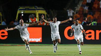 Mahrez free kick gives Algeria stoppage-time win over Nigeria