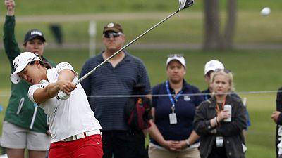 Golf: South Korean Kim sprints away to win LPGA Marathon