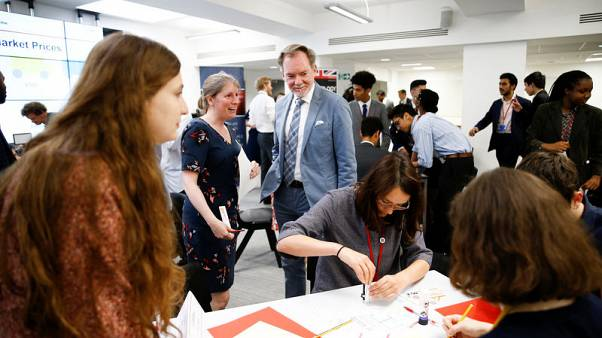 Eyeing post-Brexit trade deals, Britain looks to train school-leavers as future negotiators