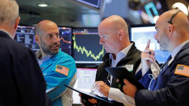 Chinese data supports stocks as U.S. earnings season picks up