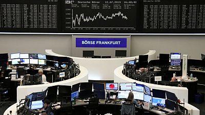 الأسهم الأوروبية ترتفع بعد بيانات صينية مشجعة