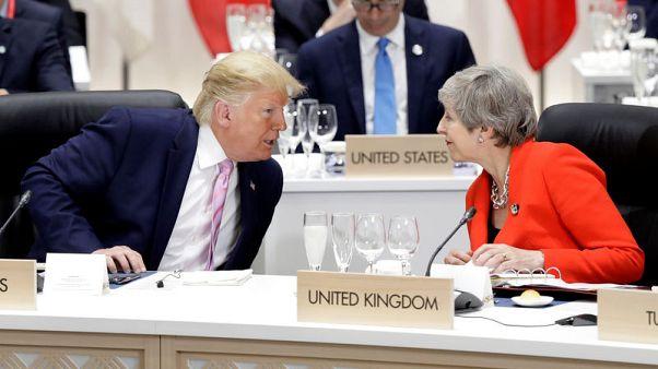 Trump language about U.S. congresswomen 'completely unacceptable', says UK PM's spokesman
