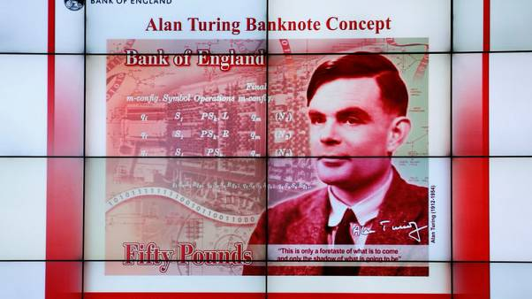 Bank of England picks World War Two code-cracker Turing for banknotes