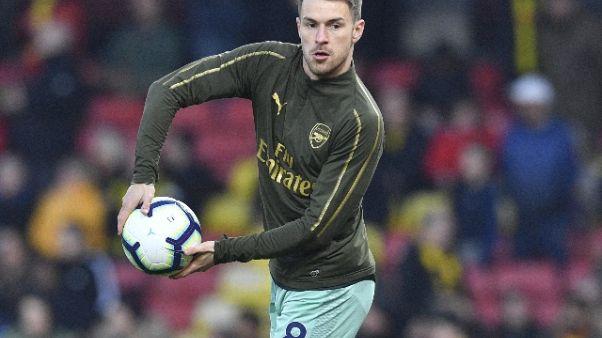Ramsey, spero di seguire orme di Charles