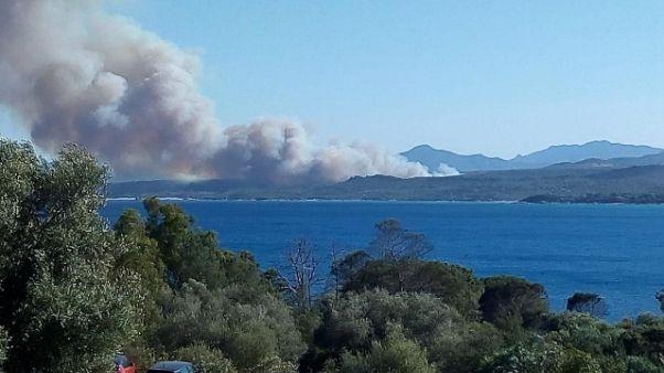 Rogo Ogliastra, evacuati hotel e camping