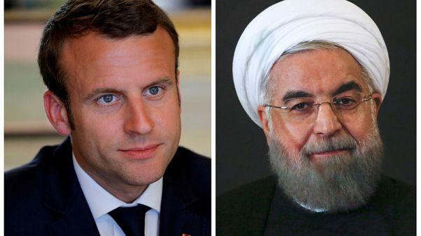 ماكرون سيتحدث إلى روحاني وبوتين وترامب لتهدئة التوتر بشأن إيران