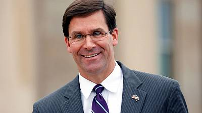 Esper formally nominated to be defence secretary by White House
