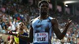لايلس يشارك في سباق 200 متر فقط بالبطولة الأمريكية وثنائية السرعة في 2020