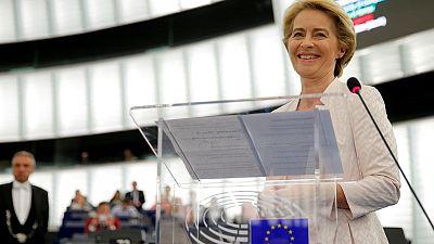Von der Leyen secures powerful EU executive top job