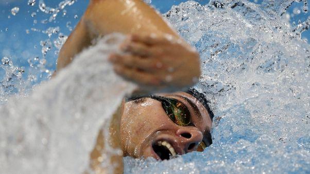 Mondiali nuoto:azzurri ko, ma pass Tokyo