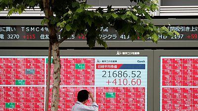 نيكي يغلق منخفضا والتباطؤ في الصين يبدد الثقة