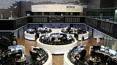 European shares flat, Bayer boosted by new Roundup ruling
