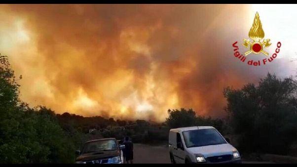 Incendio Ogliastra, aperta inchiesta
