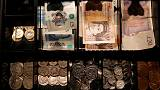 Pound engulfed by 'perfect storm', plunges to 27-month low vs dollar