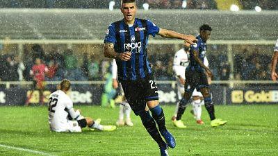 Mancini dall'Atalanta alla Roma