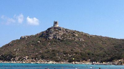 Cinque bagnanti salvati nel sud Sardegna