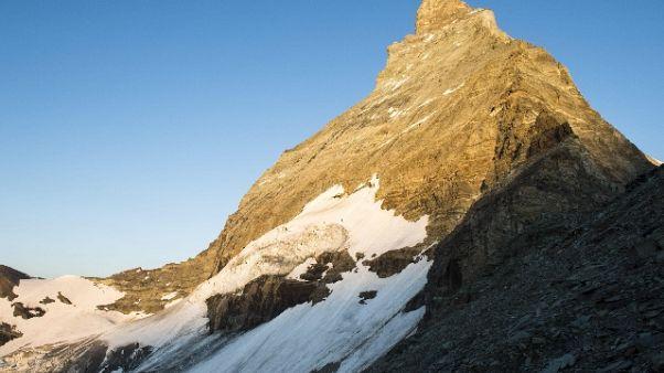 Alpinista muore su Cervino