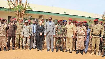 L'Ambassade des États-Unis forme et équipe les forces tchadiennes du G5 Sahel