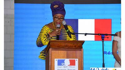 Celebration of the French National Day in Accra - 2019