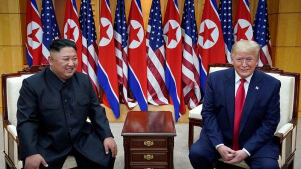 Trump says U.S. has made progress with North Korea